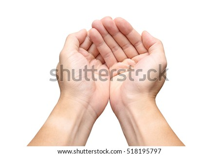 Two Hands Palms Stock Photo 17242291 - Shutterstock