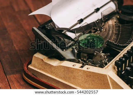 typewriter, , old,