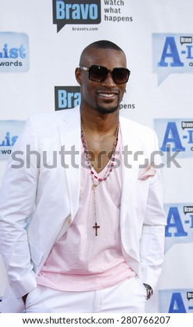 Tyson Beckford at the 2009 Bravo's A-List Awards held at the Orpheum Theatre in Los Angeles on April 5, 2009.