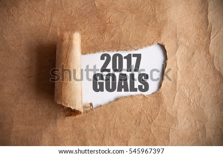 Uncovering 2017 goals