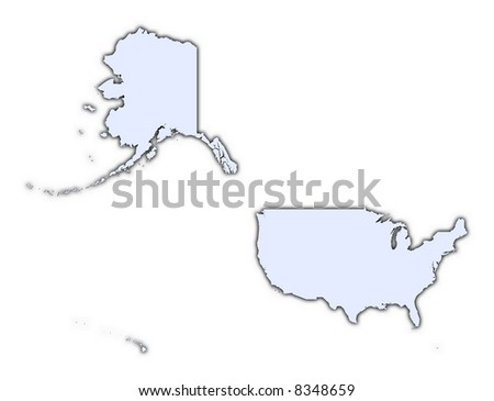 Map Texas United States Dillustration Stock Vector - Us map high resolution