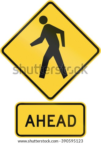 pedestrian crossing sign stock photo 599567429 shutterstock