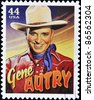 UNITED STATES OF AMERICA - CIRCA 2010: A stamp printed in USA shows Gene Autry, circa 2010 - stock photo