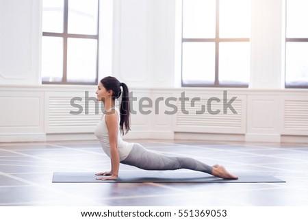 Yoga Group Concept Young Couple Meditating Stock Photo