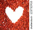 useful goji berries - stock photo