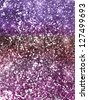 Valentine glitter stars background in pink red and purple - stock photo