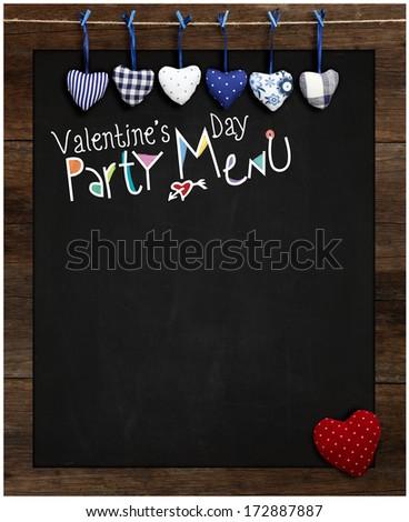 Vector fish blackboard menu restaurant wood stock vector for Loves fish box menu