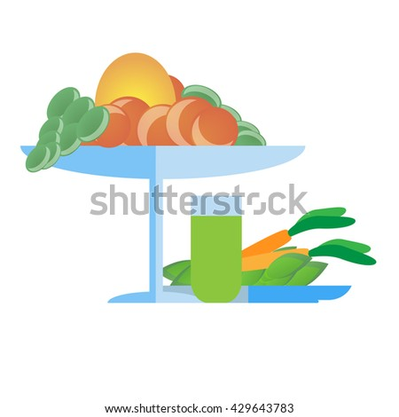 Vegetable isolated over white