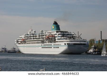 Velsen Netherlands May Th Ms Stock Photo - Cruise ship amadea