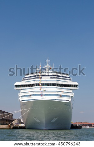 Cruise Ship Port Stock Photo Shutterstock - Cruise ships in venice port