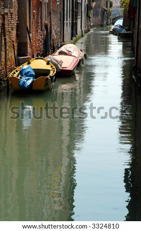 Venice: Unknown Canal