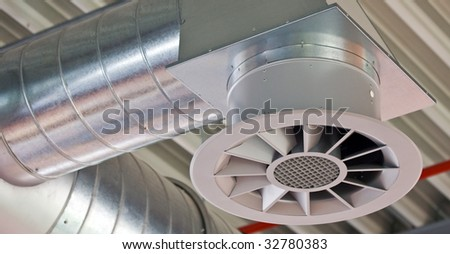 Ventilation opening of an air conditioning system