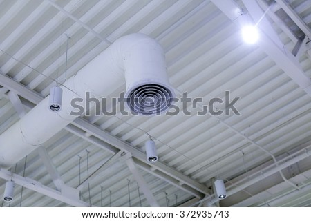Ventilation system and lamps