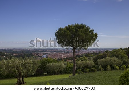 Verona, View from Agriturismo San Mattia in Italy
