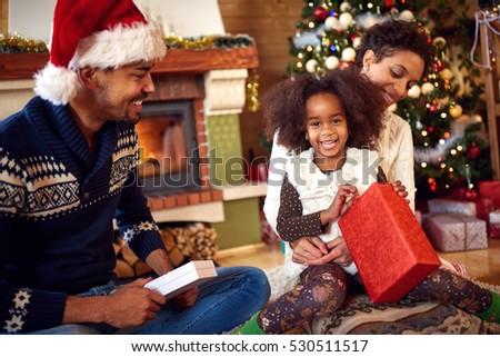 Christmas afroamerican love making 3