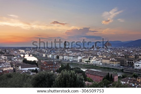 View of Florence - italy, toscany