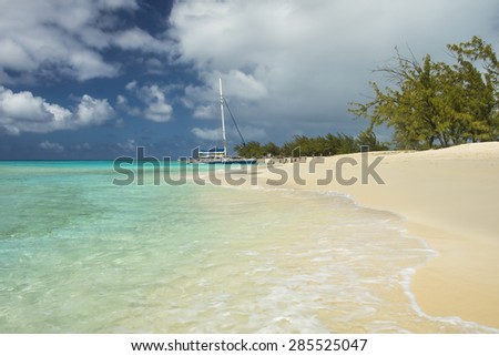 View of Governor's beach; Grand Turk; Turks and Caicos; Caribbean