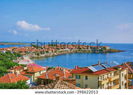 View on an Old City of Nessebar, Bulgaria