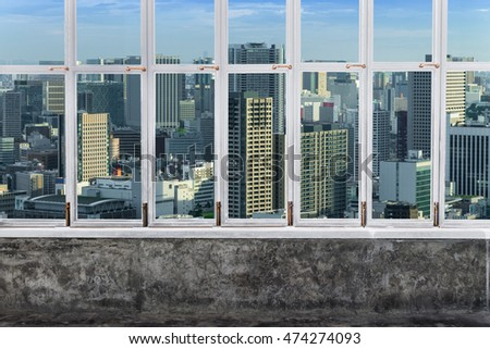 City Window Texture