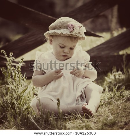 Little Boy Smelling Flower Stock Photo 28451074 Shutterstock