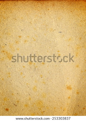 Highly detailed textured antique notebook paper stock photo vintage grunge rusty stained damaged paper design with space for text or image malvernweather Choice Image