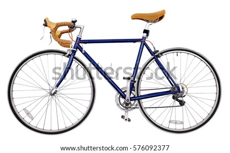 Blue Yellow Road Bike Stock Photo 1136776 Shutterstock