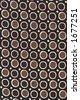 Vintage Silk textile pattern - stock photo