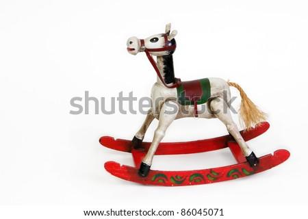 vintage small rocking horse vintage wooden rocking horse rocking horse