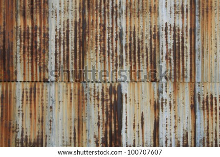 Corrugated Metal Walls vintage vertical corrugated metal wall rusty stock photo 100707607