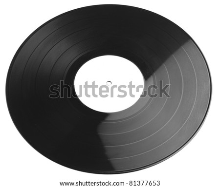 vinyl isolated on a white background