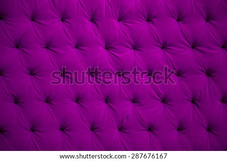 Violet velvet button wall texture