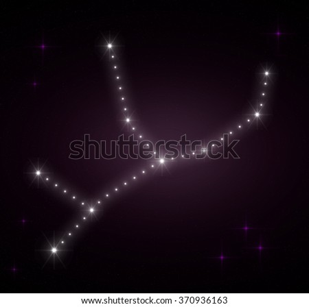 scorpius zodiac sign horoscope constellations background