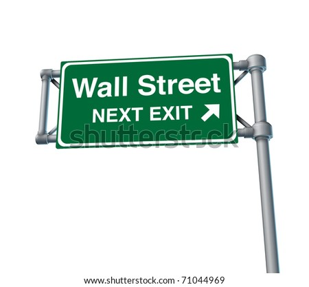 Wall Street business stock market exchange business symbol financial