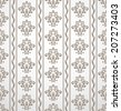 Wallpaper and tile in the style of Baroque. A seamless background. - stock photo