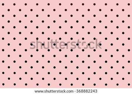 wallpaper black dots in pantone rose quartz background pattern