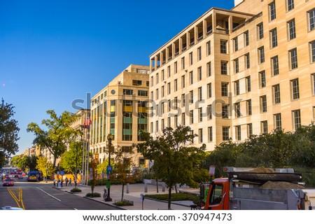 San Diego California Cityscape Gaslamp Quarter Stock Photo ...