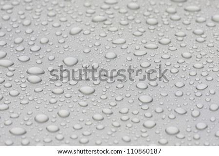 water droplets background.close up of water drops
