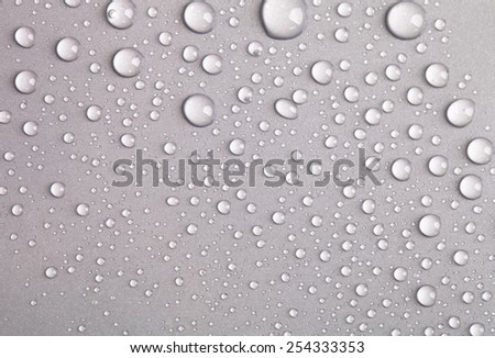 Water drops background.