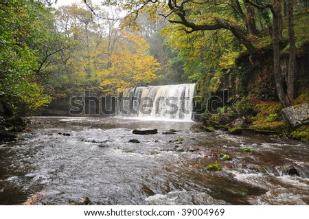 Water Fall in Brecon Beacons