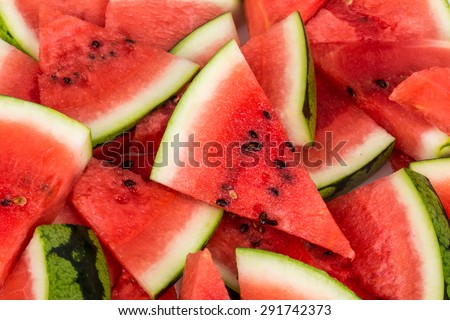 water melon slices as a background