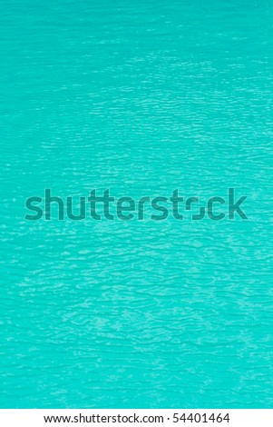 Water surface on the pool with slightly wave
