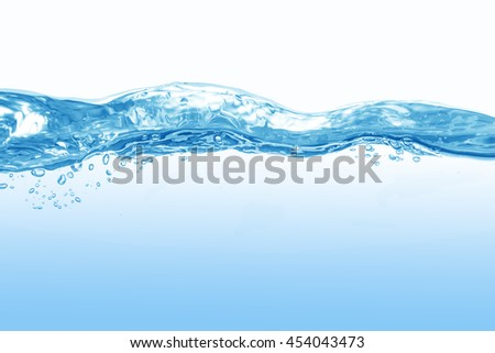 Water,water splash isolated on white background,drinking water