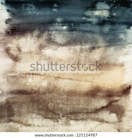 watercolor blended textures, pastel hues, gradients