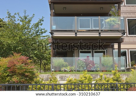 Waterfront modern residential condominiums Vancouver WA.