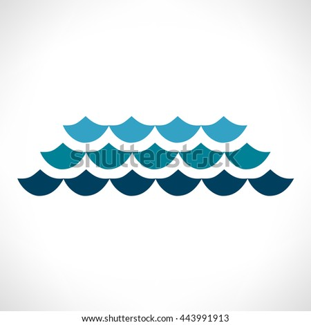 Wave Vector Symbol Business Icon Stock Vector 304351790