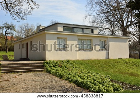 Haus Am Horn Weimar weimar germany april 13 2016 interior stock photo 463495781