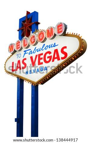 Wel e Las Vegas Sign Stock Shutterstock #0: stock photo wel e to las vegas neon sign on white background nevada usa