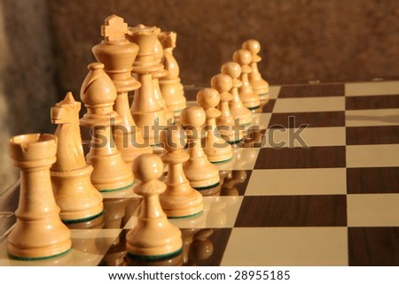 White Chess Board