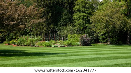 White House Kitchen Garden, Washington D.C. - stock photo