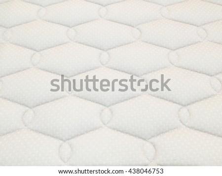 white mattress bedding pattern background